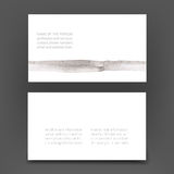 Business art card Stock Image