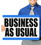 Business As Usual Stock Photos