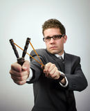 Business aspirations Stock Photography