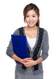 Business assistant with clipboard Stock Photography