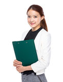 Business assistant clipboard Stock Photos