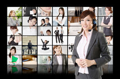 Business assistant Royalty Free Stock Photography