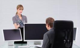 Business associates Stock Image