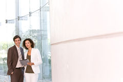 Business associates planning new strategy.  Royalty Free Stock Photography
