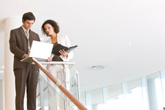 Business associates planning new strategy Stock Images