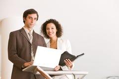 Business associates planning new strategy.  Stock Photos
