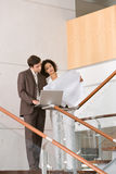 Business associates planning new strategy.  Stock Image