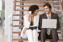 Business associates planning new strategy.  Stock Images