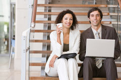 Business associates planning new strategy.  Royalty Free Stock Images