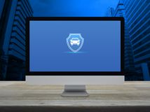 Free Business Automobile Insurance Online Concept Royalty Free Stock Photo - 160618735