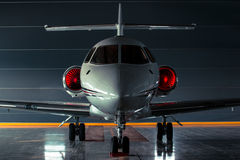 Business Aviation. In Moscow airport Domodedovo Stock Photo