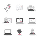 Business b2b icons vector Royalty Free Stock Image