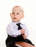 Business baby Royalty Free Stock Images