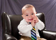 Business Baby Portrait Stock Photography