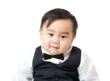 Business baby portrait Royalty Free Stock Photo