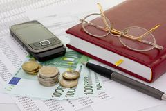 Business background Stock Images