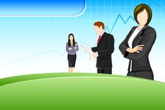 Business background Royalty Free Stock Image