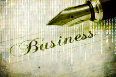 Business background Royalty Free Stock Photo