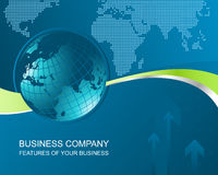 Business background abstract Stock Photo