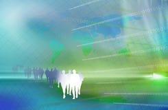 Business background illustration Royalty Free Stock Image