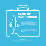 Start up background. Royalty Free Stock Images