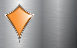 Business background metallic Royalty Free Stock Photos