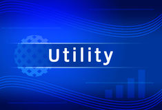 Business background Utility Stock Photography