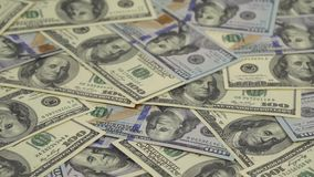 Money turns - the background stock footage