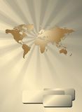 Business background with world map Stock Photo