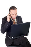 Business bad news Stock Photography