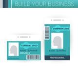Business badge template design Stock Photos