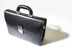 Business bag. On white background with nice shadow for more 3d look stock images