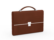 Business bag briefcase brown Stock Photography