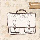 Business bag hand drawn Stock Image
