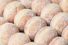 Donut jam Stock Photography