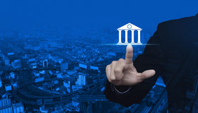 Business banking concept Royalty Free Stock Photos