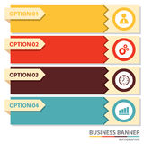 Business banner infographic Stock Photo