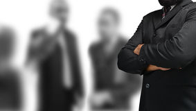 Business banner. Leadership and teamwork royalty free stock photos