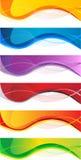 Business banner set. Vector website headers set, business success concept Stock Images