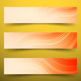 Business banner. Technology banner Royalty Free Stock Photo