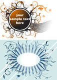 Business banners. Two vector in one picture.It is worth it Royalty Free Stock Photography
