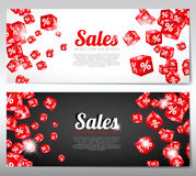 Business banners. Royalty Free Stock Images