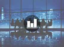 Business Bar Graph Progress Report Concept Stock Photo