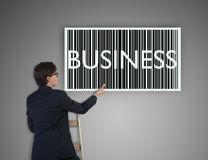 Business barcode Royalty Free Stock Images