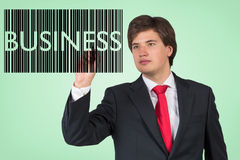 Business barcode Royalty Free Stock Photos