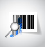 Business barcode illustration design Royalty Free Stock Photos