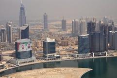 Business Bay Area in Dubai. United Arab Emirates Royalty Free Stock Image