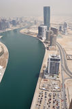 Business Bay Area in Dubai Royalty Free Stock Photo