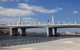 Business Bay Bridge in Dubai Royalty Free Stock Images