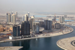 Business Bay in Dubai Stock Images